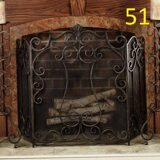 fireplace-screens-with-doors-home-depot