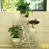 Continental-Iron-three-flower-pots-frame-floor-Iron-flower-indoor-flower-wholesale